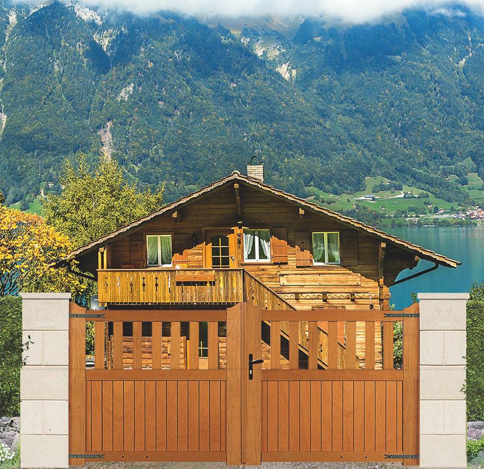 Les caractéristiques du portails bois