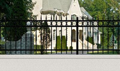 Les clôtures acier