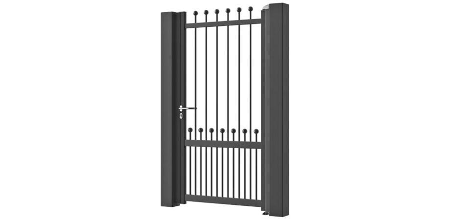 Le portail, portillon et clôture Polina